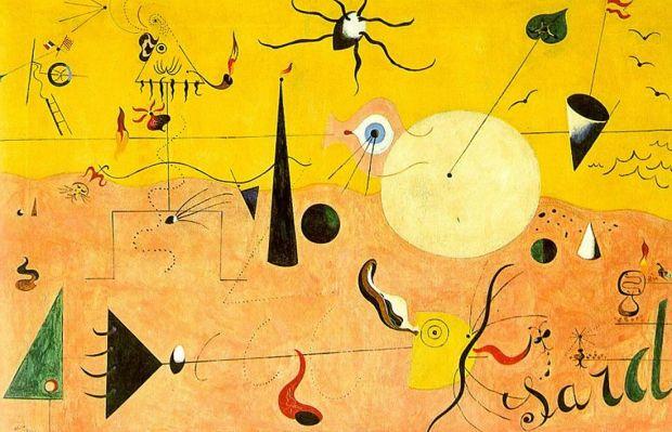 Miró: Catalan Landscape