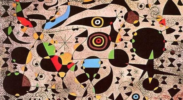 Miró: Femmes encerclées