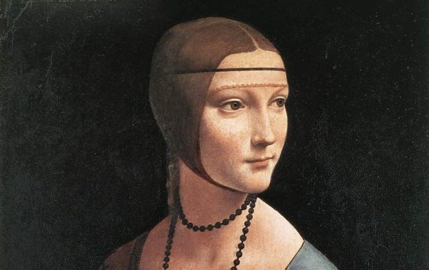 Leonardo: Lady with an Ermine (Cecilia Gallerani)