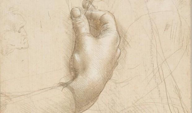 Leonardo: Study of Hands