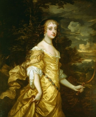 Sir Peter Lely, Portrait of Frances Stuart