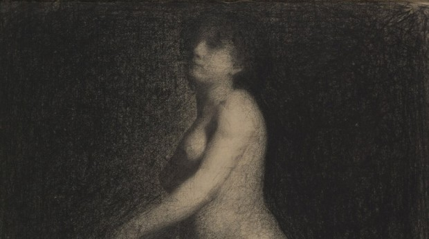 Seurat: A female nude