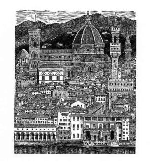 Sue Scullard, View of Florence © Sue Scullard