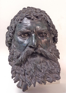 Portrait Head of King Seuthes III, Thracian, circa 400 BC