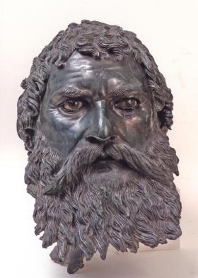 Portrait Head of King Seuthes III, Thracian, circa 400 BC