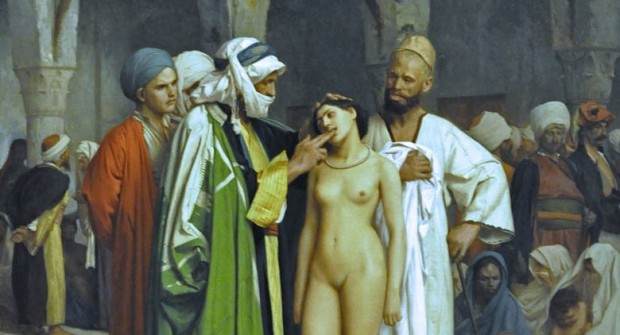 Gerome: The Slave Market
