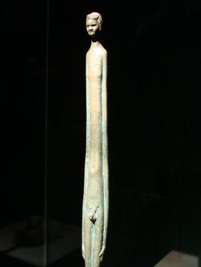 Votive Figure (Evening Shadow), Etruscan, 2nd century BC (detail)
