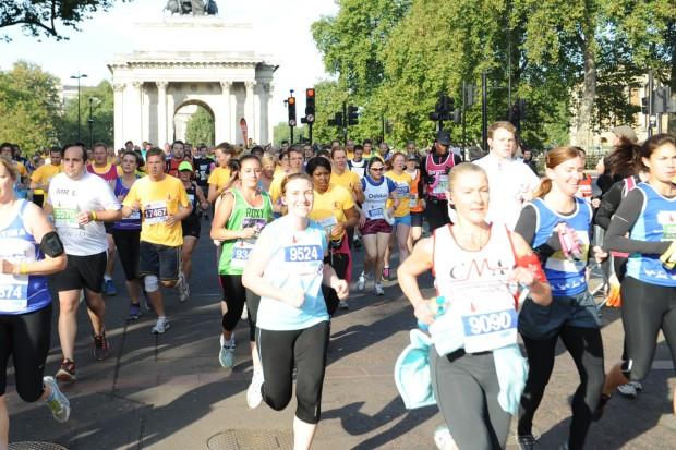 Royal Parks Half Marathon 2012