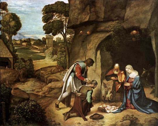 Giorgone: Adoration of the Shepherds