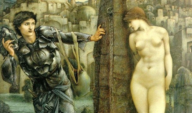 Burne-Jones: The Rock of Doom