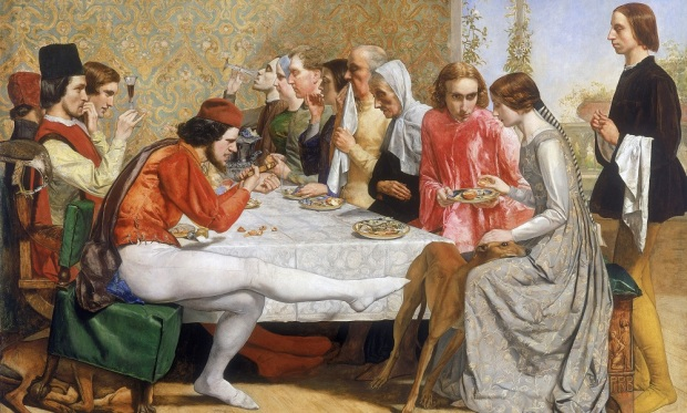 Millais: Lorenzo and Isabella
