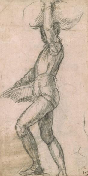 Andrea del Sarto, A standing man, Morgan Library