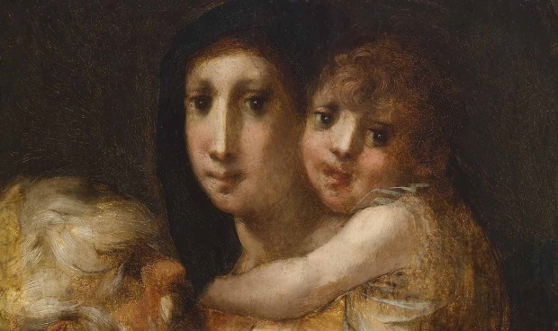 Rosso Fiorentino: Madonna and Child