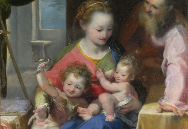 Barocci: Madonna and Child with a Cat