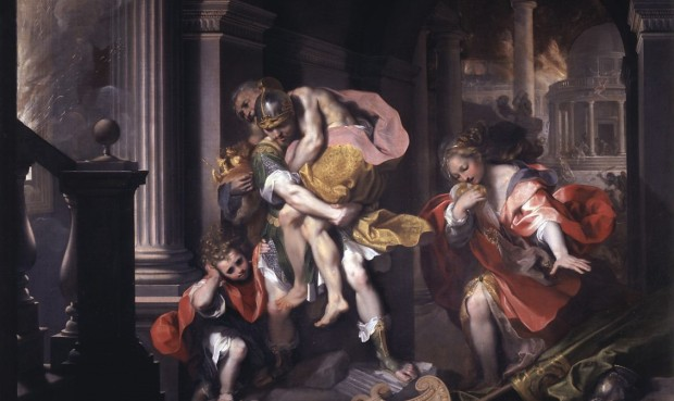 Barocci: Aeneas fleeing Troy