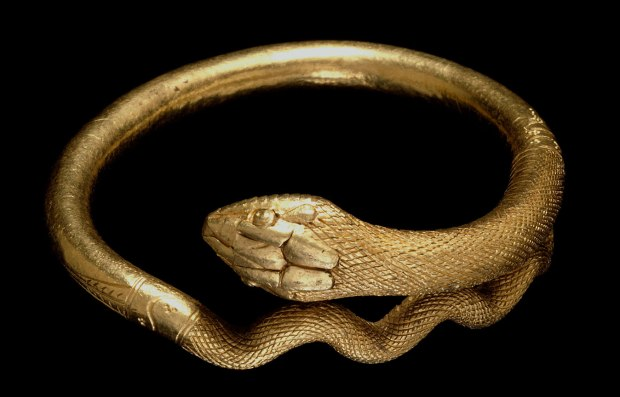 Roman Bracelet in the Form of a Snake