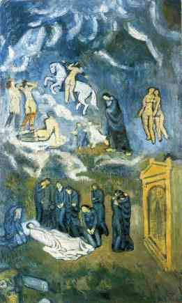 Pablo Picasso, Evocation (The Burial of Casagemas)