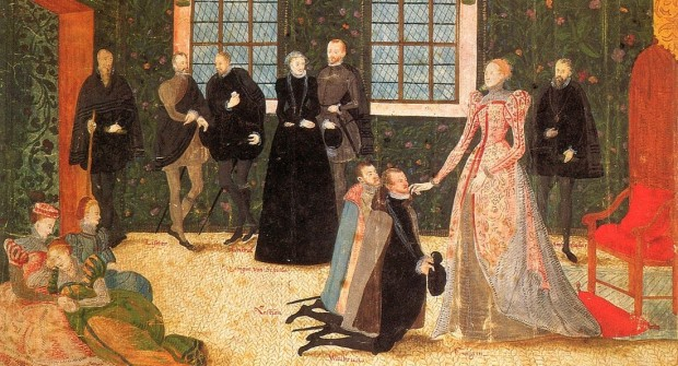 Elizabeth I receiving the Dutch Ambassadors