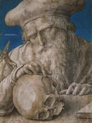 Lucas van Leyden, St Jerome, Ashmolean, Oxford