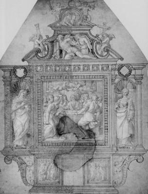Studio of Giulio Campi, Design for an Altarpiece, Christ Church, Oxford