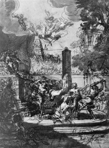 Lenardi, The Martyrdom of the Quattro Coronati, Christ Church, Oxford