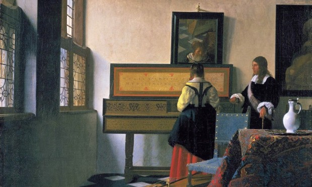 Vermeer: The Music Lesson