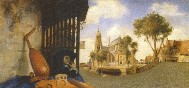 Fabritius: View of Delft