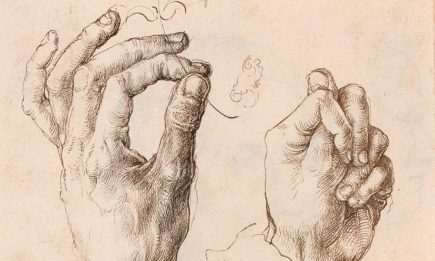 Dürer: The Artist's Left Hand