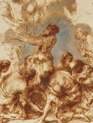 Giovanni Benedetto Castiglione, The Sacrifice of Noah