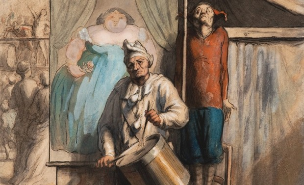 Daumier: The Sideshow
