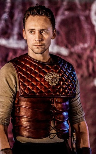 Martius (Tom Hiddleston): Coriolanus: Donmar Warehouse