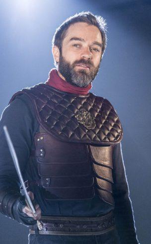 Aufidius (Hadley Fraser): Coriolanus: Donmar Warehouse