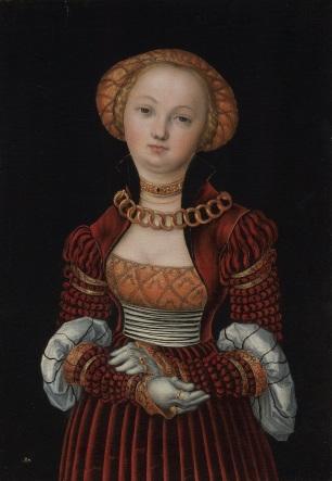 Lucas Cranach the Elder, Portrait of a Lady, National Gallery, London