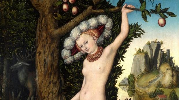 Cranach: Cupid complaining to Venus