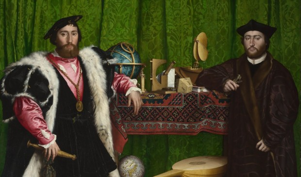 Holbein: The Ambassadors