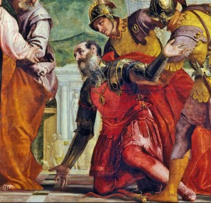 Paolo Veronese, Christ and the Centurion (detail)