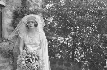Does anyone know of a better photo of Anya Seton than this showing her on her wedding day?