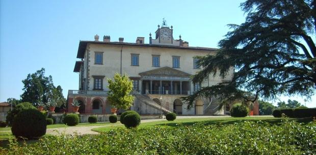 The Villa Medicea, Poggio a Caiano