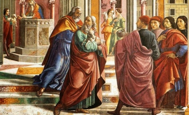 Ghirlandaio: Joachim expelled from the Temple