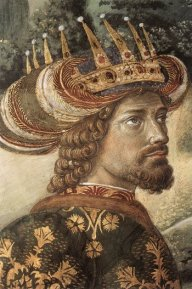 Melchior from Benozzo Gozzoli's Journey of the Magi in the Cappella Medici, Palazzo Medici Riccardi, Florence