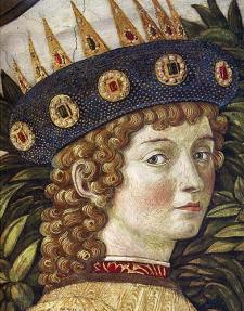 Balthazar from Benozzo Gozzoli's Journey of the Magi in the Cappella Medici, Palazzo Medici Riccardi, Florence