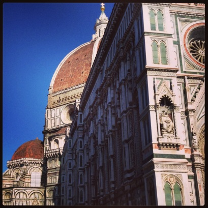The Duomo, seen from the