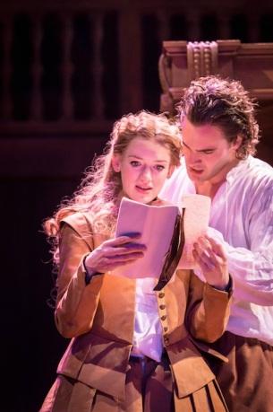 Viola (Lucy Briggs-Owen) and Will (Tom Bateman)