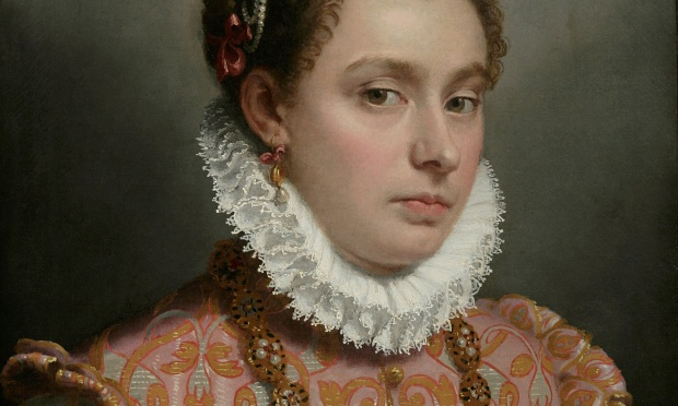 Moroni: Portrait of a young lady