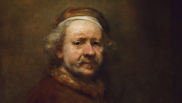 Rembrandt: Self Portrait