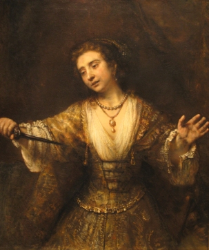 Rembrandt, Lucrezia, National Gallery of Art, Washington DC