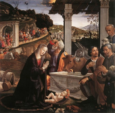 Ghirlandaio: Adoration of the Shepherds