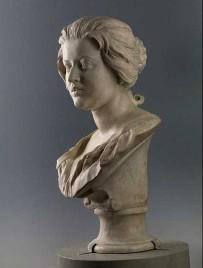 Gianlorenzo Bernini, Portrait bust of Costanza Piccolomini, 1637, Museo Nazionale del Bargello, Florence