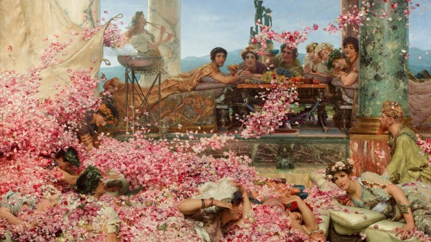 Alma-Tadema: The Roses of Heliogabalus