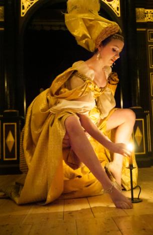 Erisbe's maid Mirinda (Rachel Kelly) © Stephen Cummiskey